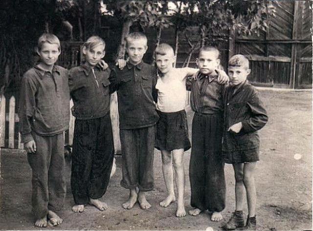 Детство Виталия Соломина