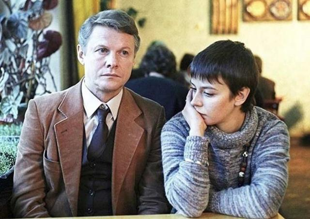 Виталий Соломин в кинофильме «Зимняя вишня»
