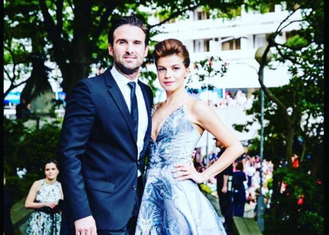 Агния Кузнецова с мужем