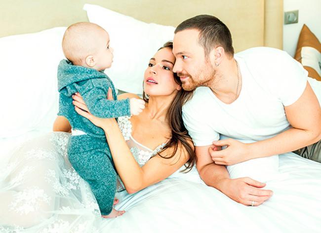 Алексей Чадов с женой и сыном