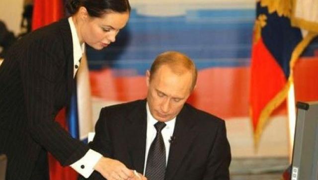 Екатерина Андреева и Путин