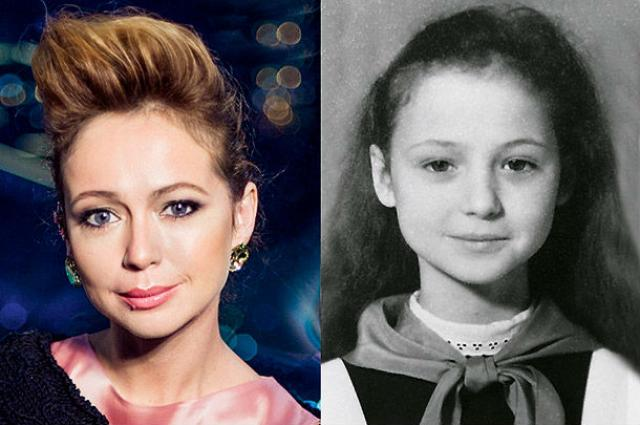 Елена Захарова в детские годы