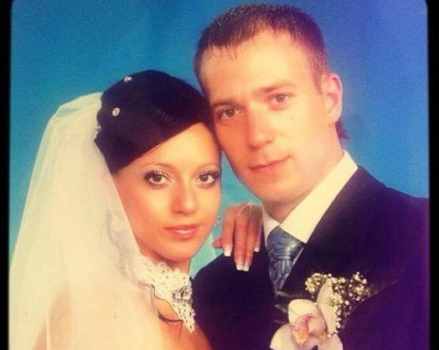 Свадебное фото Юлии Белой