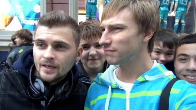 Костя Павлов и Макс Брандт