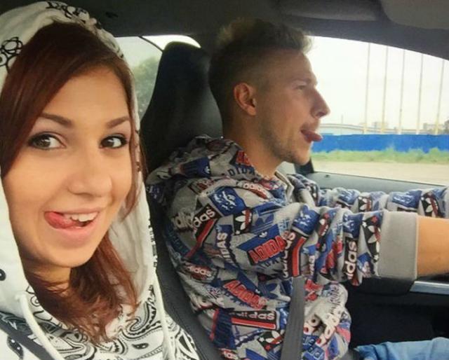 Костя Павлов и его девушка Марина