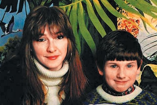 Катя Семенова с сыном