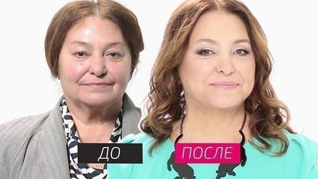 Наталья Бондарчук до и после пластики