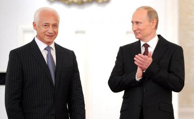Владимир Спиваков и Путин