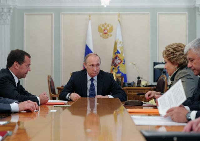 Валентина Матвиенко На совещании у Президента