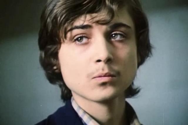 Александр Лазарев-младший в юные годы
