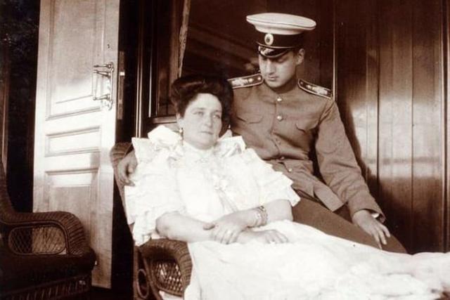 Анна Вырубова с мужем