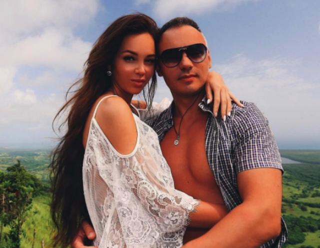 Анастасия Лисова с мужем