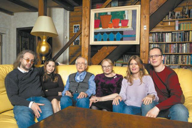 Семья Ливановых
