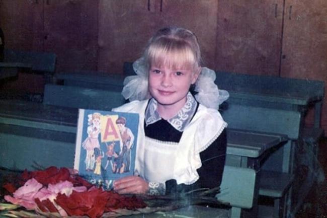 Евгения Феофилактова в детстве