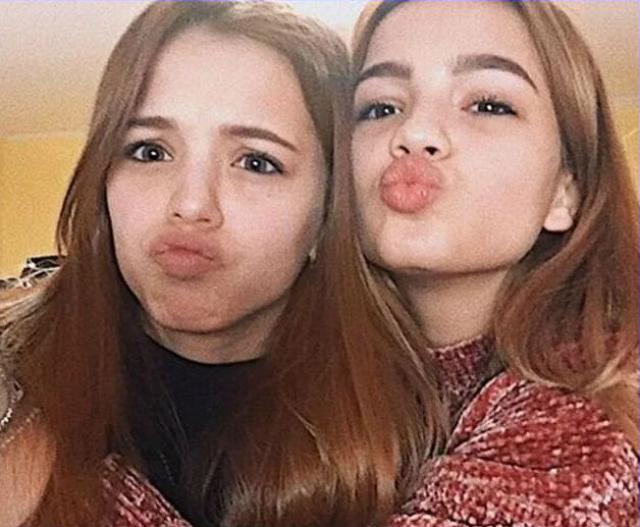 Юлия Гаврилина и Валя Карнавал