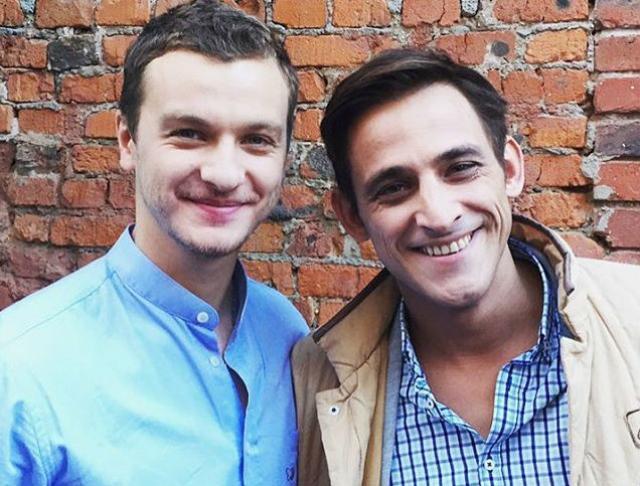 Михаил Башкатов с Филиппом Бледным