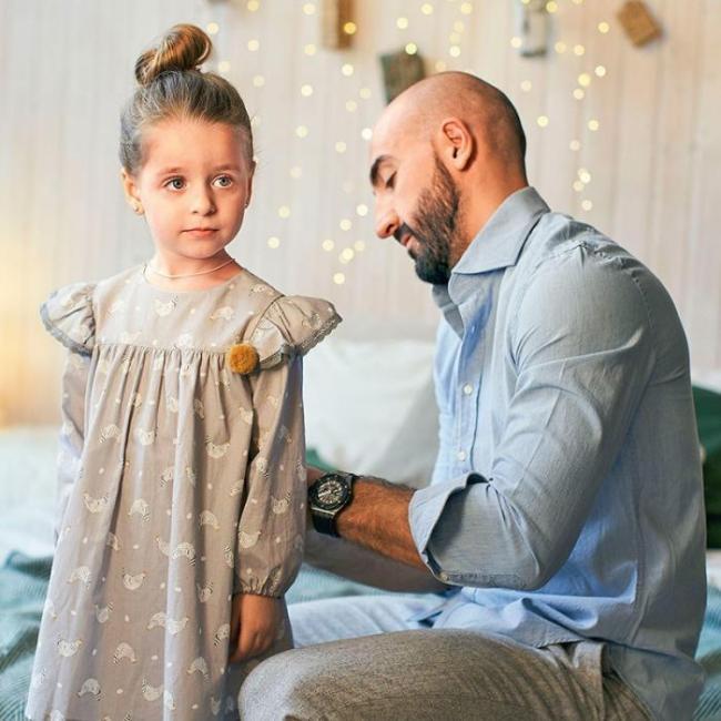 Артур Волков со старшей дочерью Арианной