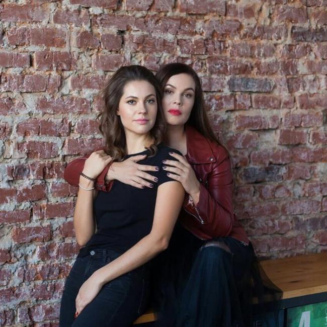 Екатерина Андреева с дочерью