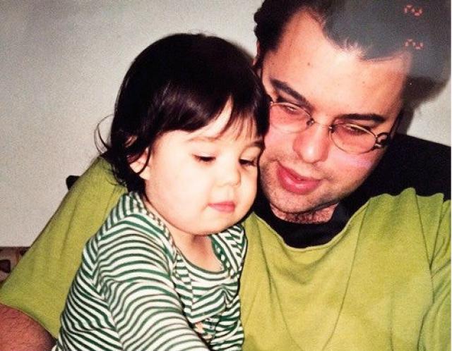 Максим Фадеев с сыном