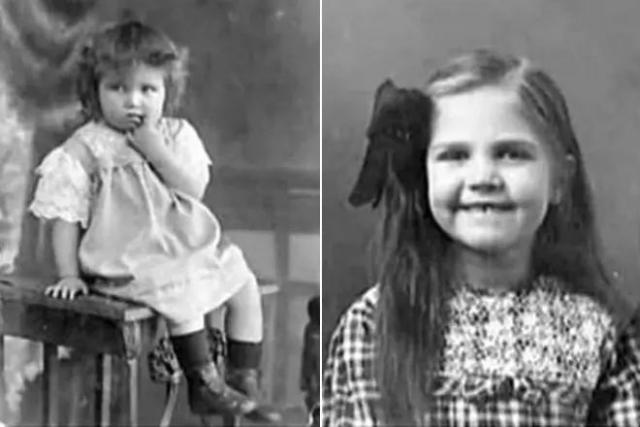 Тамара Макарова в детские годы