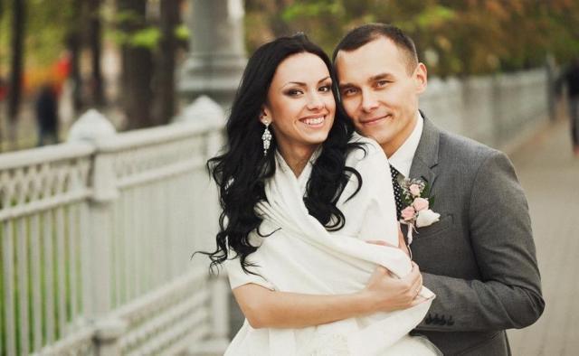 Айдар Гараев и его жена