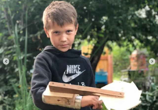 Сын Алексея Земскова