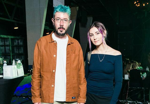 Артемий Лебедев и Марина Литвинович