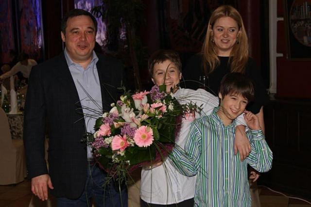Семья Анны Михалковой