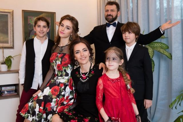 Семья Игоря Рыбакова