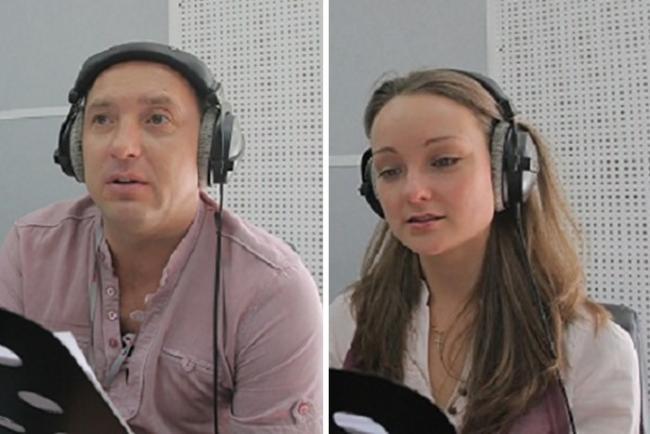 Михаил Жонин и Юлия Перенчук