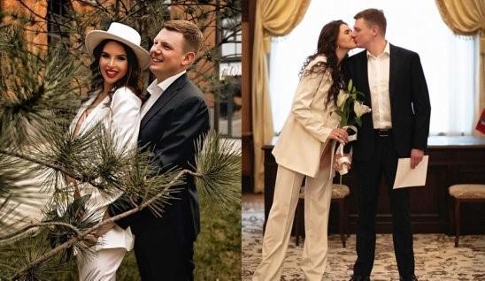 Эла Суханова с новым мужем