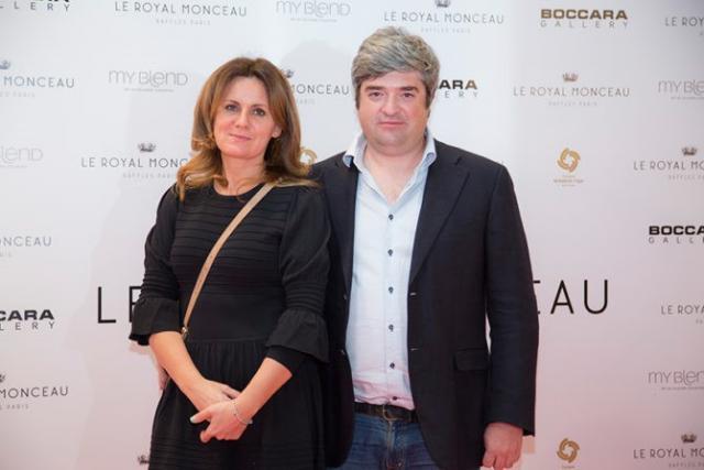 Сергей Доля с женой