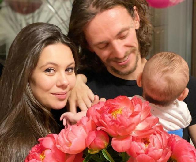 Сергей Полунин с семьей