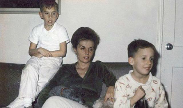 Тим Бертон в детстве