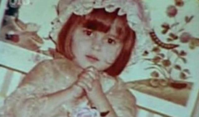 Хелена Картер в детстве