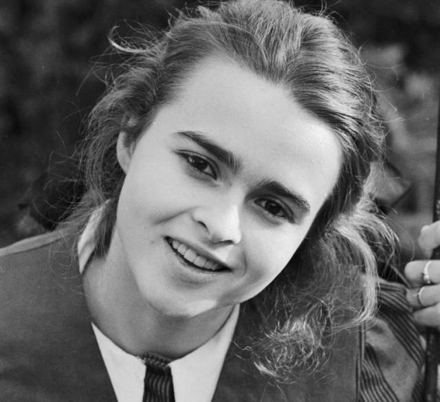 Хелена Бонем Картер в юные годы
