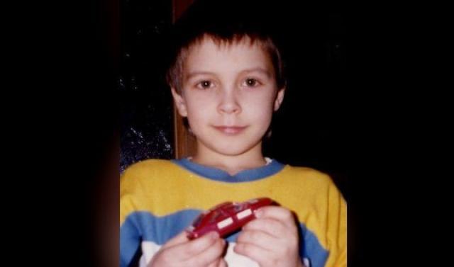 Денис Васильев в детстве