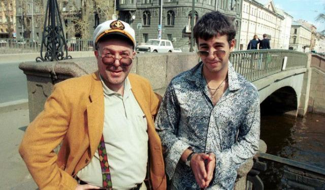 Иван Ургант с отцом