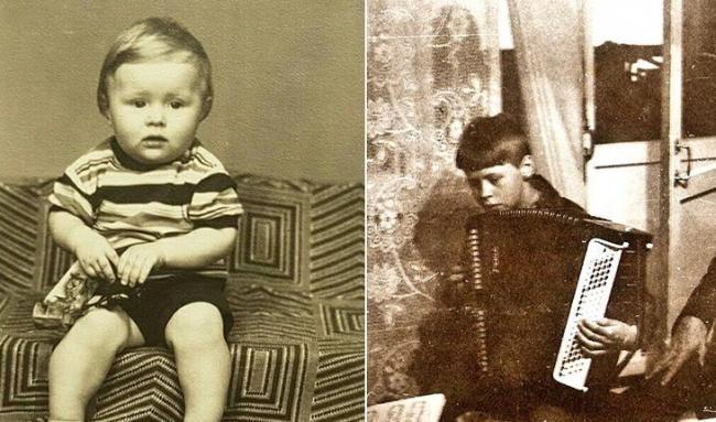 Сергей Исаев в детстве