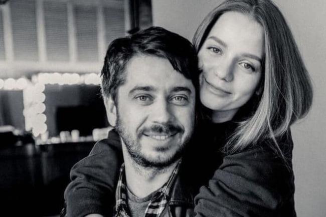 Стас Старовойтов с женой