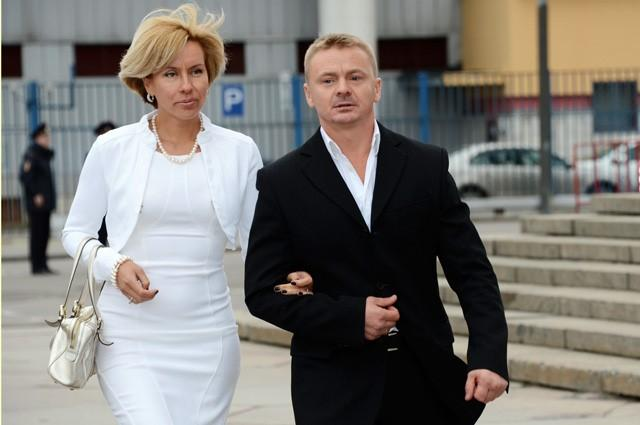 Жена Владимира Сычева