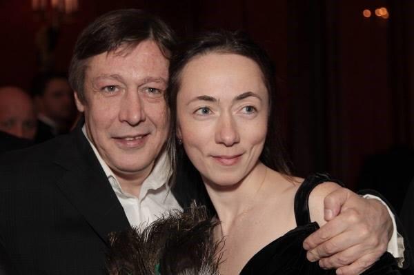 Софья Кругликова и Михаил Ефремов