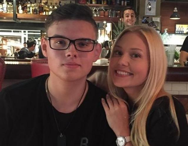 Мария Третьякова с сыном