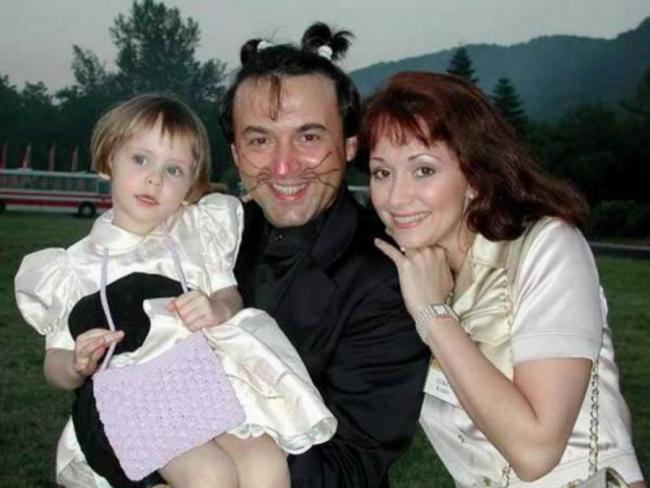 Татьяна Василишина с папой и мамой