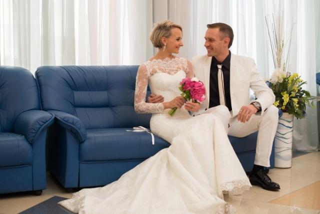 Свадьба Костомарова и Домниной