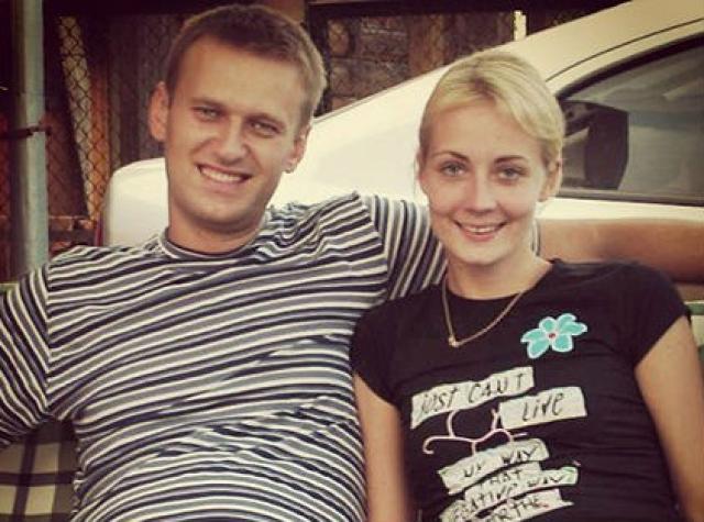 Навальные в юные годы