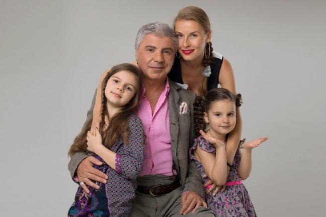 Сосо Павлиашвли с семьей