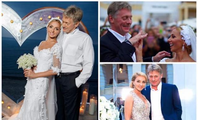 Свадьба Дмитрия Пескова с Татьяной Навкой