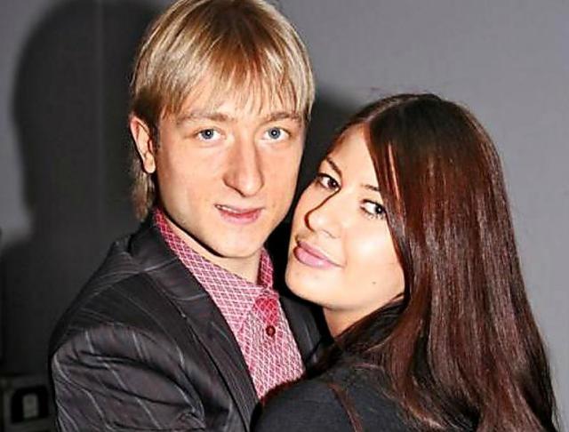 Мария Ермак и Евгений Плющенко