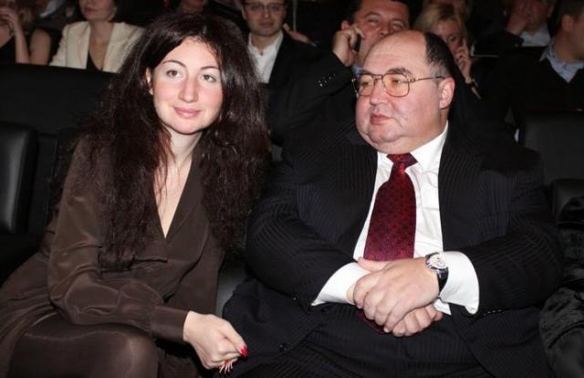 Борис Шпигель с дочкой